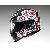 Nouveau casque de moto Shoei NXR Shane Byrne TC1