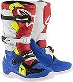 Alpinestars Tech 7S MX Stiefel 34 Blau/Weiß/Rot