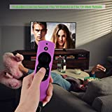 Case for Fire TV or TV Stick Remote,Rukoy Protective Case for 5.9'' Amazon Fire TV or Fire TV Stick Remote with Alexa Voice(Purple)