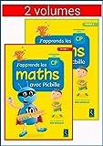 J'apprends les maths avec Picbille CP - Fichier en 2 volumes...
