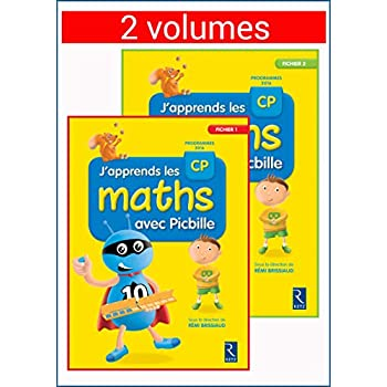 J'apprends les maths avec Picbille CP - Fichier en 2 volumes