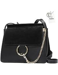 Yoome Women Genuine Leather Crossbody Shoulder Purse Chain Messenger Bag  for Girls Split Fashion Clutch - a8b7034b4d345