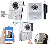 VIDEOCITOFONO WIRELESS CHIAMATA SMARTPHONE IPHONE SENSORE MOVIMENTO SCATTA FOTO