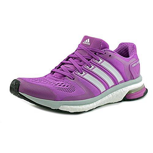 adidas Womens Adistar Boost ESM, Lavenish/Silver, 6 B (Womens Adidas Running Kleidung)