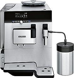 Siemens TE806201RW EQ. 8 series 60 Kaffeevollautomat (1600 W, superSilent) Schwarz / Edelstahl