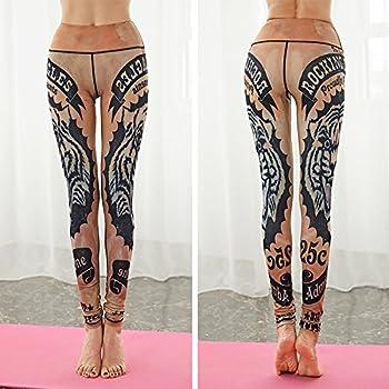 Jialele Yoga Pants Yoga Leggings Print Yoga Pants Yoga Pant_repair Height Pop Video Thin Stamp, The Tiger Series L 5