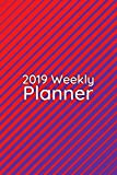 2019 Weekly Planner: Intense colors and patterns make this bold graphic design diary perfect to focus art students or design teachers on thier schedule. (Bold Graphic Design Planner)
