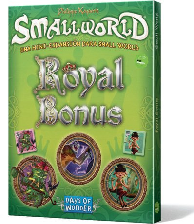 Days of Wonder- Smallworld: Royal Bonus - Español, Color, Talla Unica (EDGDW790812)