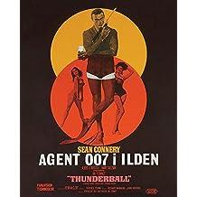 """James Bond """"Operación Trueno–Danish Lienzo (40x 50cm, multicolor"""