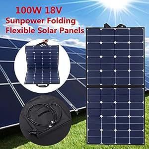 solarpanel mohoo solar ladeger t 5 5a 18v 100w sunpower. Black Bedroom Furniture Sets. Home Design Ideas