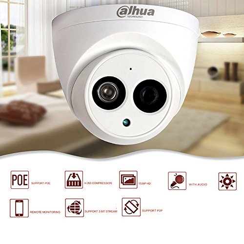 Dahua New POE IP Camera IPC HDW4433C A 4MP utilizing created in Mic Replace IPC HDW4431C A utilizing greater Night Vision H265 HD IR modest Dome IP67 28mm Lens IR 50m Day and Night ONVIF International Version Dome Cameras