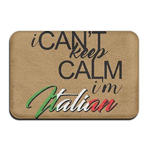I Can't Keep Calm I'm Italian Non-Slip Indoor/Outdoor