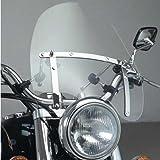 Vramack Seven Brand - Parabrisas Universal Custom Transparente Pequeño 42X45Cm