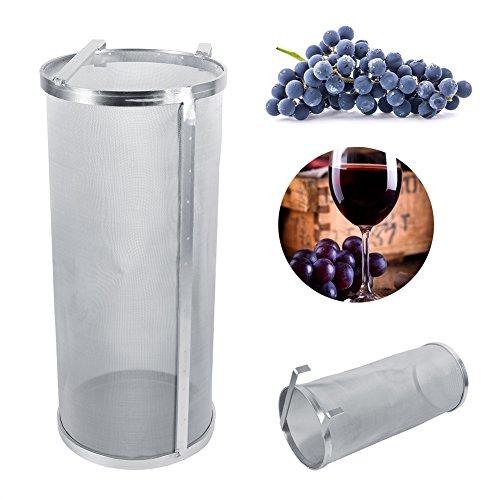 Wein Hopfen Filter Bier Filter Sieb Hopper Spider Brew Hop Filter aus Edelstahl, 13,8 Inch (Spider-sieb Edelstahl)