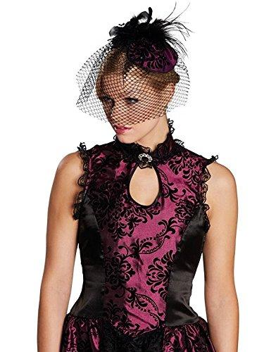 Rubies Saloon Girl Haarreif lila Halloween 4130478 (Saloon Girl Zubehör)