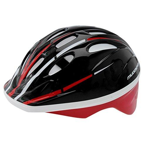 Muddyfox Kids Recoil Cycling Helmet Junior Clasp Fastening Black/Red One Size