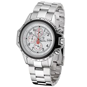 DeTomaso G-30817-A – Reloj de Caballero de Cuarzo, Correa de Acero