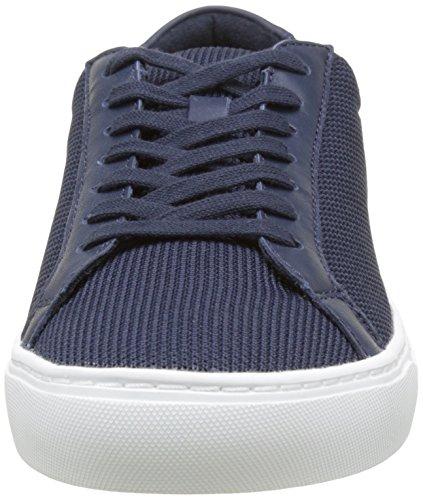 Lacoste L.12.12 Bl 2 Cam, Baskets Homme Bleu (Nvy)