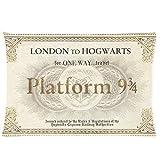 Platform 93/4Harry Potter Taie d'oreiller billet (40x 60cm Housse de coussin Pillow Case