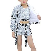 ccd740236 Tenthree Disfraz Danza Lentejuelas Diseño Moderno - Hip Hop Dancewear  Lentejuelas Disfraz de Jazz de Baile