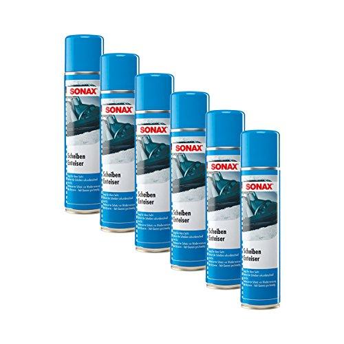 6x SONAX 03313000 ScheibenEnteiser Eisfrei Antifrost Spray 400ml