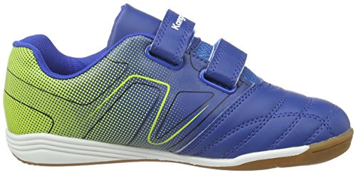 KangaROOS Unisex-Kinder K-Lab Low-Top Blau (mid Blue/lime 418)