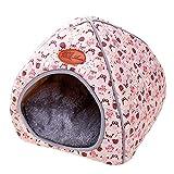 Covermason Warm Bett Winter Haustierbett für Hunde, Welpe, Katzen und Kleintiere Hundebett Katzenbett süßer Bär