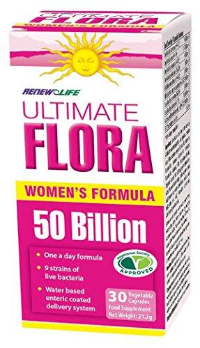 Renew Life Ultimate Flora – Women's Complete 50 Billion 30 vcaps