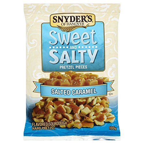 Snyder Sweet and Salty Pretzel Pieces 100g