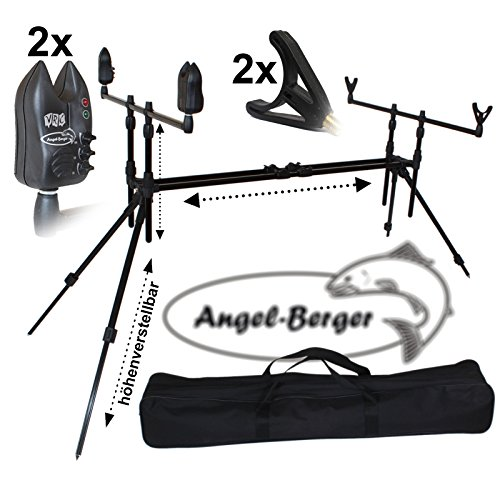 Angel Berger Luxus Rod Pod verschiedene Modelle mit Tasche (Luxus Rod Pod mit Zubehör)