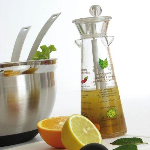 Mastrad F27030 - Mezclador de vinagreta (incluye recetas en francés)