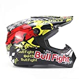 LOLIVEVE Persönlichkeit Vier Jahreszeiten Motorrad Motocross Helm Männer Batterie Auto Helm Mountainbike Voller Helm Dh Speed ​​Drop Red Bull Kampf