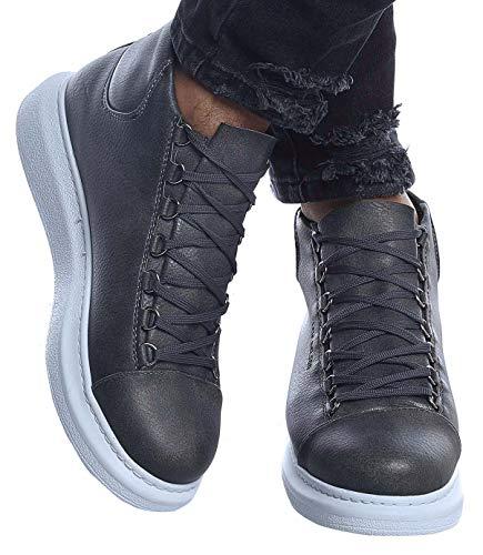 LEIF NELSON Herren Schuhe Freizeitschuhe Boots Elegante Moderne Schuhe für Winter Sommer Männer Sneakers LN163; 40, AN