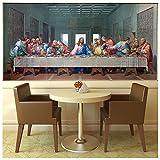 azutura Das Letzte Abendmahl Fototapete Jesus Christus Tapete Religion Wohnkultur Erhältlich in 8 Größen Extraklein Digital