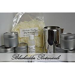 Anfänger Kerze Making-Kit 100% Soja (Dosen) blumigen und fruchtigen Düfte
