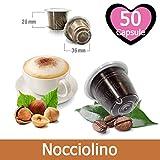 50 Capsule Nocciolino Compatibili Nespresso