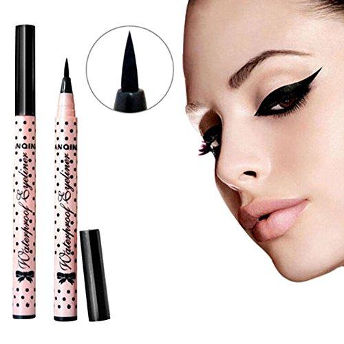 Fashion Liquid Wasserdichte Eyeliner Gel Make Up Eye Liner Schatten Gel Schwarz Kosmetik 2 Typen zur Wahl