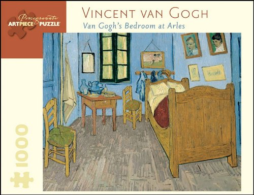 Vincent Van Gogh Van Gogh's Bedroom at Arles 1000 Pc Jigsaw (Pomegranate Artpiece Puzzle)