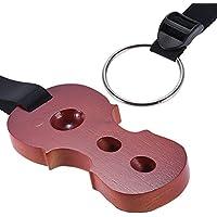 ammoon Laubholz-Cello-Stachel Anti-Rutsch-Stopp-Halter Rast Anchor-Schutz-Auflage Cello Form Palisander Farbe