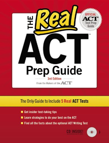 Pdf read free the real act prep guide [with cd] [ebook epub kidle].
