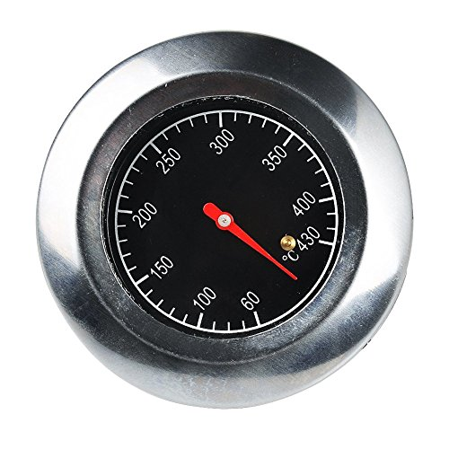 Bermud Edelstahl Bimetall Thermometer Bratenthermometer Grillthermometer Edelstahl BBQ Gasgrill Barbecue Smoker-thermometer Weber