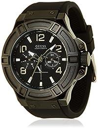 Guess Herren-Armbanduhr Chronograph Quarz Silikon W0247G4