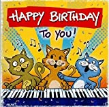 Archies Musikkarte Happy Birthday 'Happy Birthday'