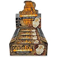 Grenade Carb Killa High Protein and Low Carb Bar, 12 x 60 g - Caramel Chaos