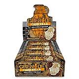Grenade Carb Killa Barre riche en protéines et à faible teneur en glucides, 12 x 60 g - Caramel Chaos