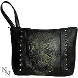 Gothic and Fantasy Rhinestone Skull Bag (29cm)