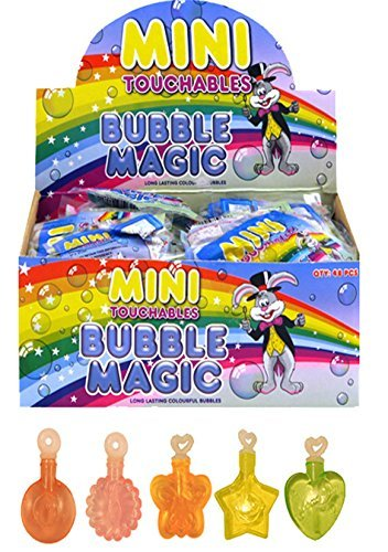 20 x Childrens Mini Touchable Bubbles party bag fillers loot bag pocket money toys IDEAL FOR PARTY BAG FILLERS,LOOT BAGS,FATES,PARTYS by party products