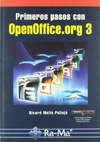 Primeros pasos con OpenOffice.org 3 por Mollé Pallejé  Ricard