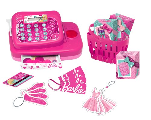 Barbie - Caja registradora Fashion (Lexibook RPB554)