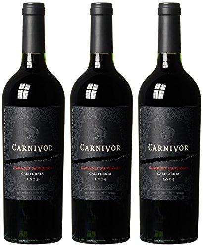 Cabernet Sauvignon Carnivor Ernest und Julio Gallo 2015Trocken (3 x 0.75 l)